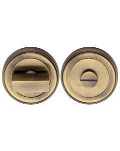 Antique Brass Turn and Release 53mm