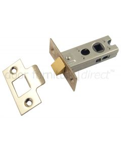 York Tubular Mortice Latch Polished Nickel