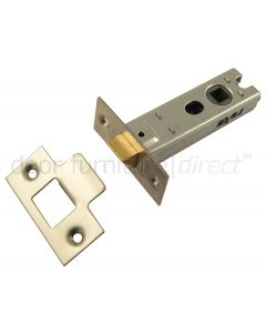 York Tubular Mortice Latch Satin Nickel
