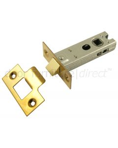 York Tubular Mortice Latch Brass