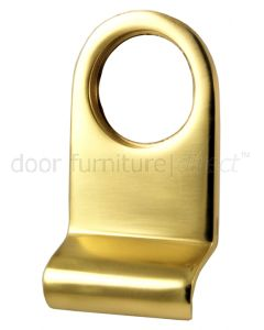 Polished Brass Radiused Cylinder Door Pull