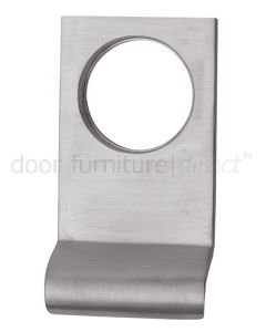 Satin Chrome Square Edge Cylinder Door Pull