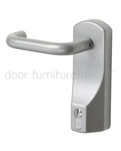 Exidor Lever Operated Outside Access Device Silver
