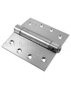 Stainless Single Action Spring Hinge 102x102x3mm in Pairs