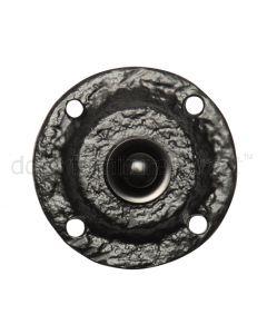 Black Antique Iron Round Front Door Bell 60mm 751