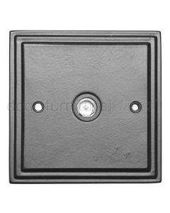 Black TV Coax Socket 5119