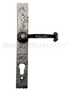 Black Antique Euro Lock Plate 3-Way Locking  2459