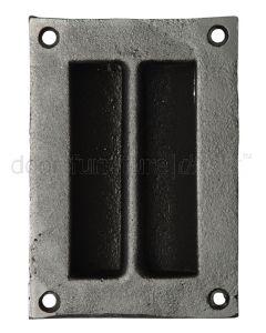 Black Iron Flush Handle 4327