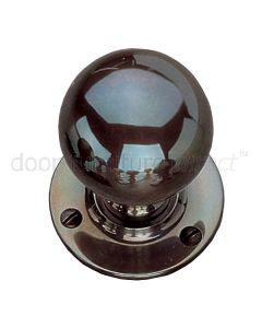 Real Bronze 48mm Ball Door Knobs