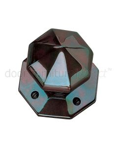 Real Bronze 77mm Octagonal Door Knobs