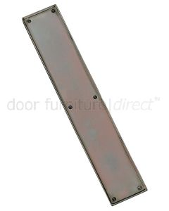 Real Bronze Finger Plate 305x57mm