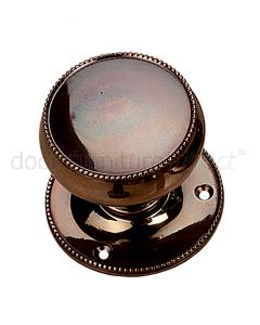 Real Bronze 64mm Cushion Door Knobs