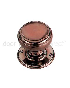 Real Bronze 64mm Stepped Bun Door Knobs