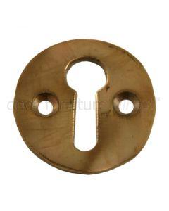 Real Bronze Escutcheon 32mm Diameter