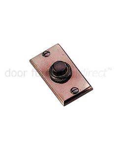 Real Bronze Bell Push 60x30mm