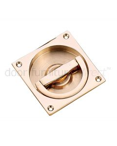 Real Bronze Flush Ring Handle