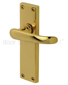 PVD None Tarnish Brass Windsor Latch Door Handles