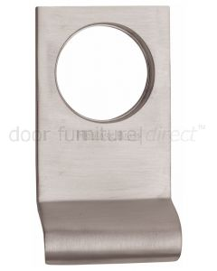 Heritage Satin Nickel Square Edge Cylinder Pull 84x45mm