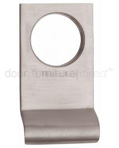 Heritage Satin Nickel Square Edge Cylinder Pull 84x45mm