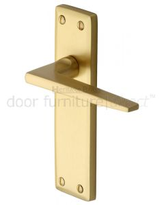 Heritage KEN6810 Satin Brass Kendal Latch Door Handles
