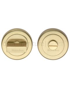 Heritage V4035 Satin Brass Turn and Release 53mm