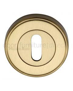 Heritage ERD7000 Satin Brass Key Escutcheon 53mm