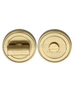 Heritage ERD7030 Satin Brass Turn and Release 53mm