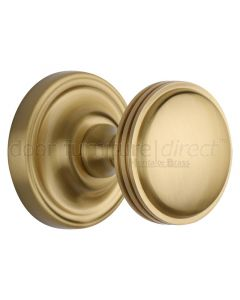 Heritage WHI6429 Satin Brass Whitehall Mortice Knobs 63mm