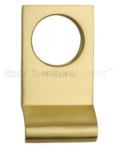 Heritage V933 Satin Brass Square Edge Cylinder Pull