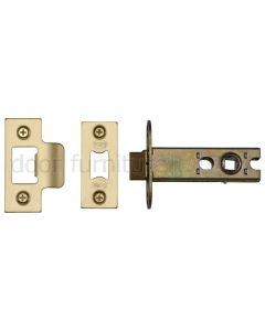 York Satin Brass Heavy Duty Tubular Latch 3in