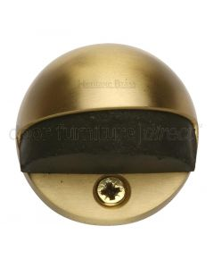 Heritage V1080 Satin Brass Oval Door Stop