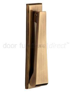 Heritage K1310 Antique Brass Slim Door Knocker 165x40mm