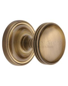 Heritage WHI6429 Antique Brass Whitehall Mortice Knobs 63mm