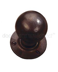Rustic Bronze Ball Mortice Door Knobs
