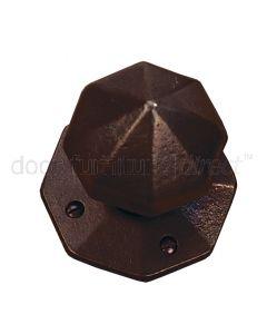 Rustic Bronze Octagonal Mortice Door Knobs