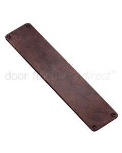 Rustic Bronze Finger Plate 305 x 64mm