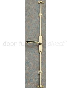 Brass Lever Handle Espagnolette Bolt