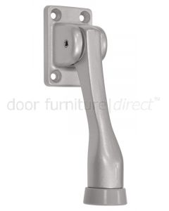Silver Spring Loaded Kick Down Door Holder