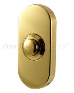 Oblong Bell Push PVD
