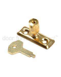 Brass Plated Locking Pivot 116