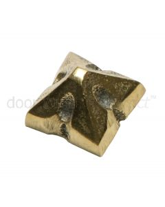 Antique Style Brass Door Stud 22mm 153