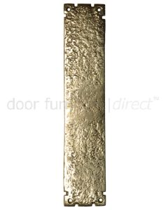 Antique Style Brass Finger Plate 304x63mm 769