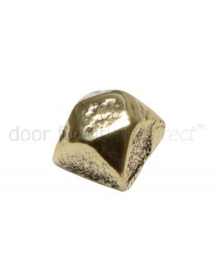 Antique Style Brass Door Stud 19mm 1081