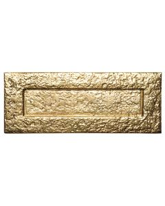 Antique Style Brass Letter Plate 265x105mm 1083