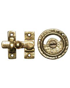 Antique Style Brass Privacy Bolt 1150