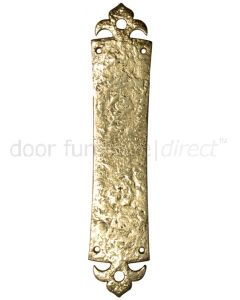Antique Style Brass Finger Plate 339x73mm 2156