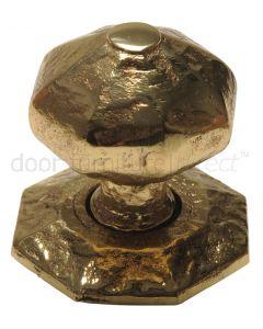 Antique Style Brass Centre Door Knob 70mm 3064