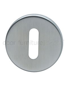 Polished Stainless 6mm Key Escutcheon in Pairs Grade 316