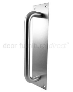 Stainless Steel 225mm Pull Handle On Plate