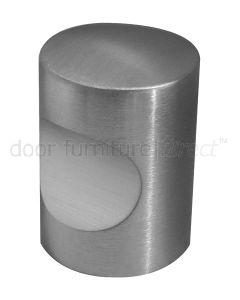 Grade 304 Satin Stainless Steel Cylinder Cabinet Knob
